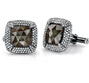 Cushion Diamond Cufflinks